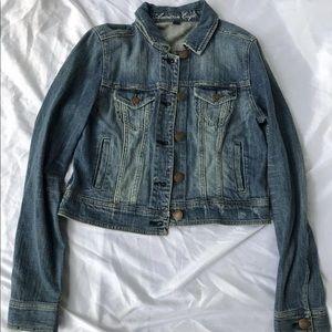 American Eagle Denim Jean Jacket Size Medium